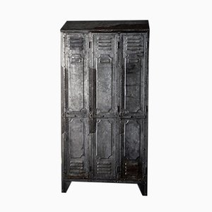 Vintage French Metal Cabinet from Gantois, 1930s