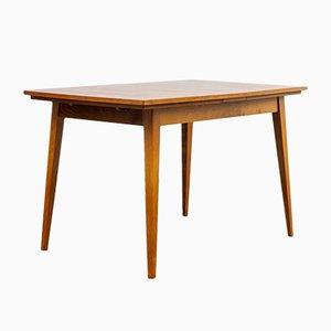 Tavolo da pranzo Mid-Century impiallacciato in legno di noce, anni '60
