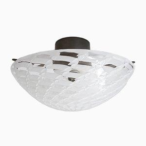 Italienische Deckenlampe aus Muranoglas von Venini, 1960er