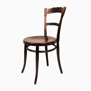Antique Wooden No. 260 Dining Chair from Jacob & Josef Kohn