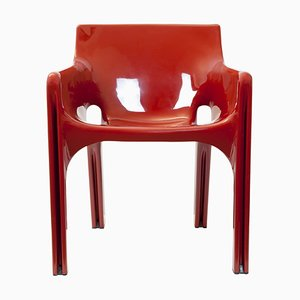 Italienischer Gaudi Stuhl aus Kunststoff von Vico Magistretti für Artemide, 1980er