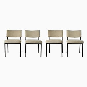French Side Chairs by Joseph-André Motte for Steiner, 1960s, Set of 4