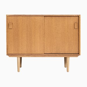 Danish Oak and Wood Cupboard from Dammand & Rasmussen, 1960s