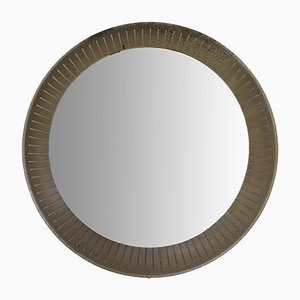 Italian Modern Back Lit Mirror from Stilnovo, 1950s