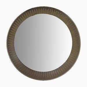 Specchio moderno retroilluminato di Stilnovo, Italia, anni '50
