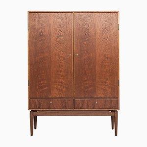 Buffet danés Mid-Century de teca y madera, años 60
