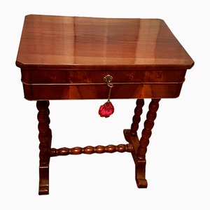 Antique Italian Walnut Worktable