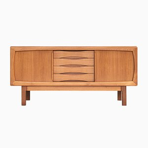 Danish Teak and Wood Sideboard by Burchardt Nielsen for Burchardt Nielsen, 1960s