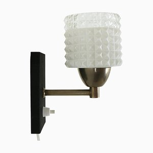 Small Glass Sconce, 1960s