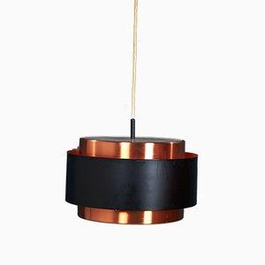Lámpara colgante Saturn danesa de Johannes Hammerborg para Fog & Mørup, años 60