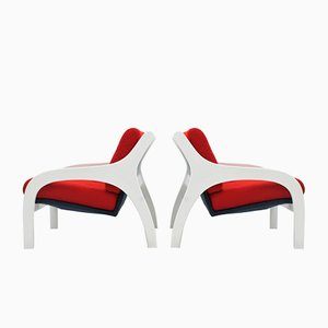 Vivanda Armchairs by Claudio Salocchi for Luigi Sormani, 1960s, Set of 2