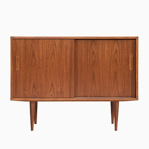 Danish Teak and Wood Sideboard from Hundevad & Co., 1960s