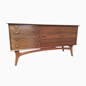 Mid-Century Walnut Sideboard from Alfred Cox, 1960s