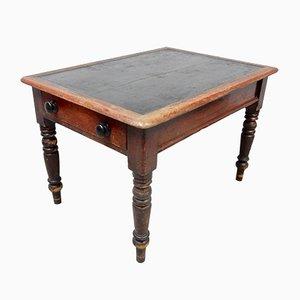 Tavolo da biblioteca antico in pino
