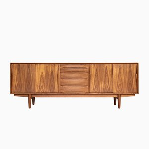Danish Teak Sideboard by Arne Vodder for Dyrlund, 1960s