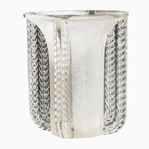 Vase Marignane Vintage par René Lalique, France, 1930s