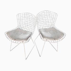Beistellstühle aus Draht von Harry Bertoia für Knoll Inc., 1952, 2er Set