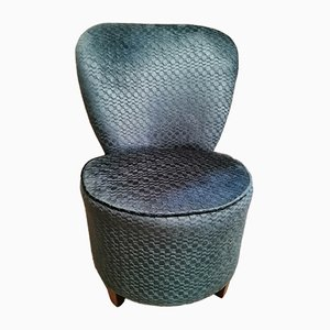 Mid-Century Blue Side Chair from Sherborne, 1950s