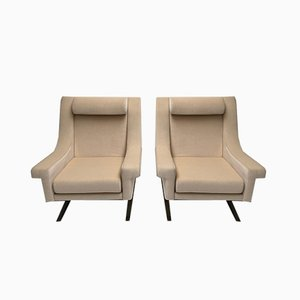 Italian Mohair Grand Prix Living Room Set by Maurice Calka for Arflex, 1960s