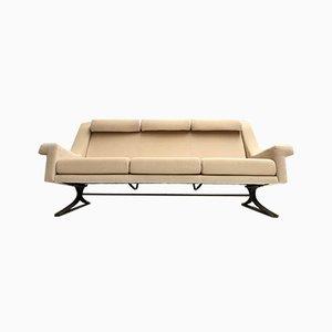 Italian Mohair Grand Prix Living Room Set by Maurice Calka for Arflex, 1960s