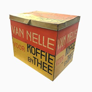 Boîte à Café ou à Thé De Stijl par Jacques Jongert pour Van Nelle, 1931