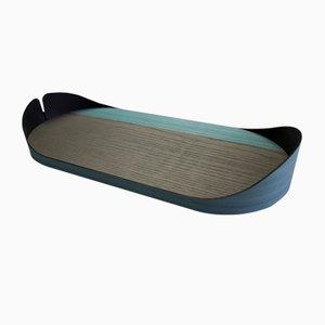 Mittelgroßes Nelumbo Tablett von Andrea Gregoris für Lignis