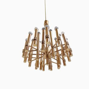 Modernist Italian Chandelier by Angelo Brotto for Esperia, 1960s