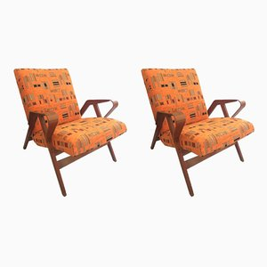 Vintage Armchairs from Tatra, 1960s, Set of 2