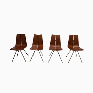 GA Dining Chairs by Hans Bellmann for Horgen-Glarus, 1958, Set of 4