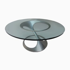 German Free-Form Coffee Table by Knut Hesterberg for Ronald Schmitt, 1974