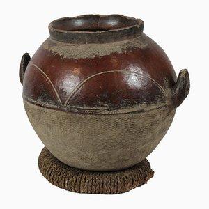 Vintage Vase aus Terrakotta, 1920er