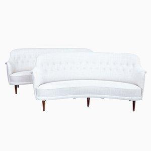 Moderne skandinavische Sofas von Carl Malmsten, 1920er, 2er Set