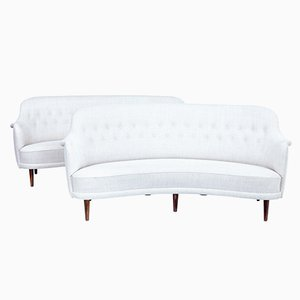 Scandinavian Modern Sofas by Carl Malmsten, 1920s, Set of 2