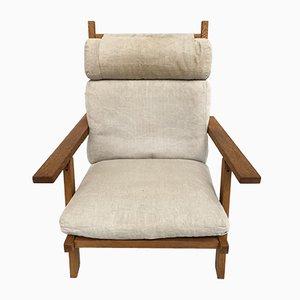 Sillón reclinable modelo AP71 y otomana de Hans J. Wegner para AP Stolen, 1968
