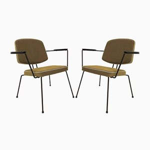 Model 5003 Lounge Chairs by Rudolf Wolf for Elsrijk, 1950s, Set of 2