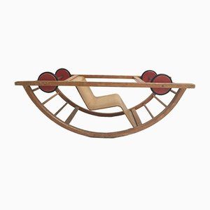 German Children's Rocking Chair by Hans Brockhage & Erwin Andrea for Siegfried Lenz, 1950s