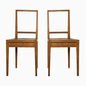 Dutch One Nightstand Chairs by Henk Stallinga for Droog Design, 1990s, Set of 2