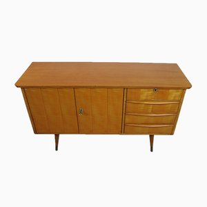 Mid-Century German Veneered Wood and Lacquer Sideboard, 1960s