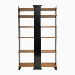Modernist Swiss Model 132 Shelving Unit by Wilhelm Kienzle for Embru, 1930s