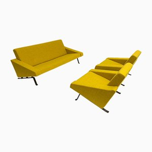 Vintage Triangle Living Room Set from De Ster Gelderland, 1950s