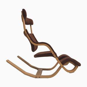 Moderner skandinavischer Gravity Sessel aus Buche von Peter Opsvik für Stokke, 1984