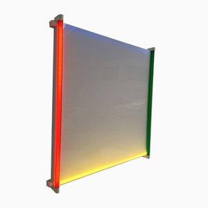 Lámpara de pared con contorno minimalista de Aldo Van den Nieuwelaar para Nila & Nila Lights, años 80