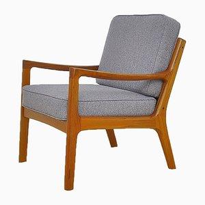 Dänischer moderner skandinavischer Armlehnstuhl von Ole Wanscher für France & Søn / France & Daverkosen, 1950er