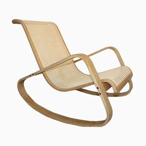 Vintage Italian Rocking Chair, 1970s