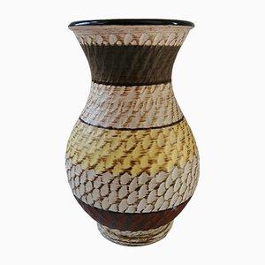 Westdeutsche Vintage 216/15 Vase aus Sgraffito Keramik von Dümler & Breiden