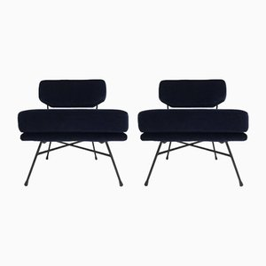 Italian Elettra Lounge Chairs by BBPR for Arflex, 1957, Set of 2