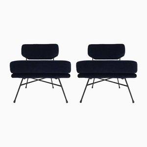 Italienische Elettra Sessel von BBPR für Arflex, 1957, 2er Set