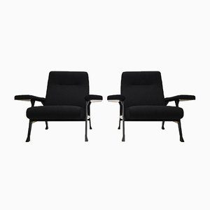 Italian Holden Compass Hall Chairs by Roberto Menghi for Arflex, 1958, Set of 2