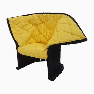 Postmodern Italian Felt Chair by Gaetano Pesce for Cassina, 1980s