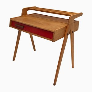 Mid-Century Dutch Birch Dressing Table from Everest, 1950s